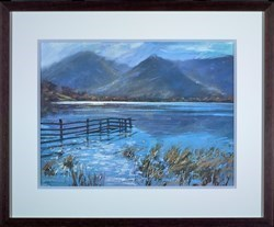 Brotherswater after rain, Lake District by James Bartholomew -  sized 27x20 inches. Available from Whitewall Galleries